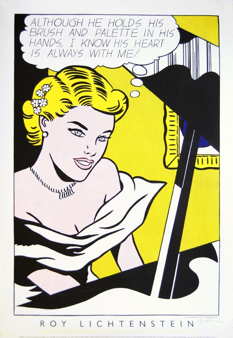 1071: ROY LICHTENSTEIN - Girl at Piano