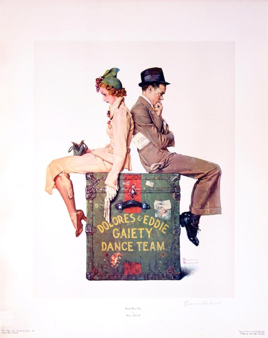 1073: NORMAN ROCKWELL - Gaiety Dance Team