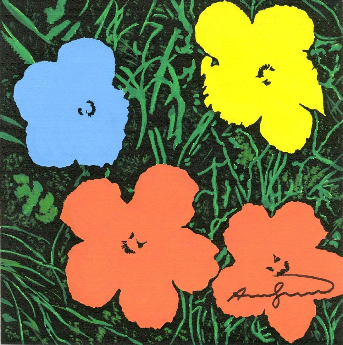 1091: ANDY WARHOL - Flowers