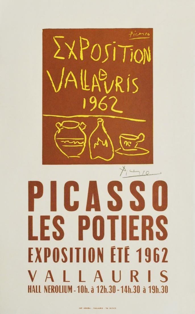 1104: PABLO PICASSO - Exposition Vallauris 1962