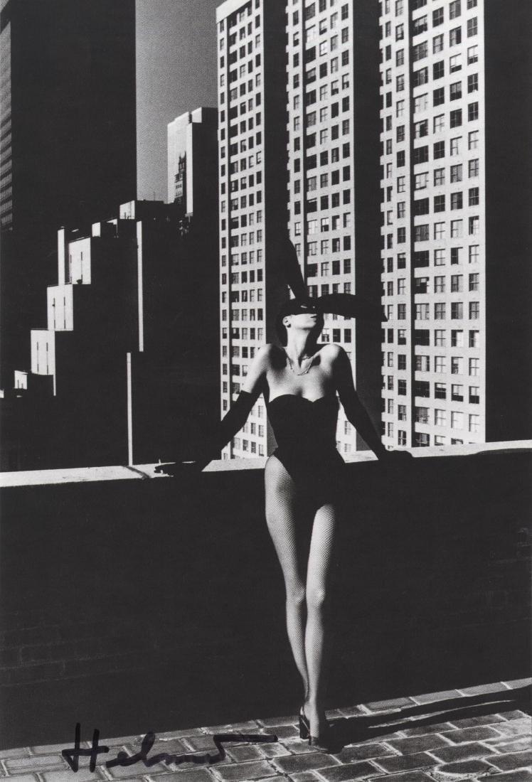 1114: HELMUT NEWTON - Elsa Peretti As a Bunny, New York