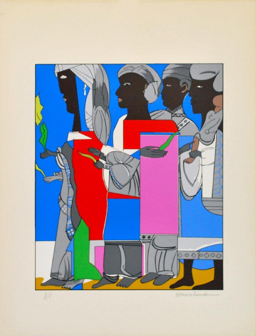 1118: ROMARE BEARDEN - Easter Procession