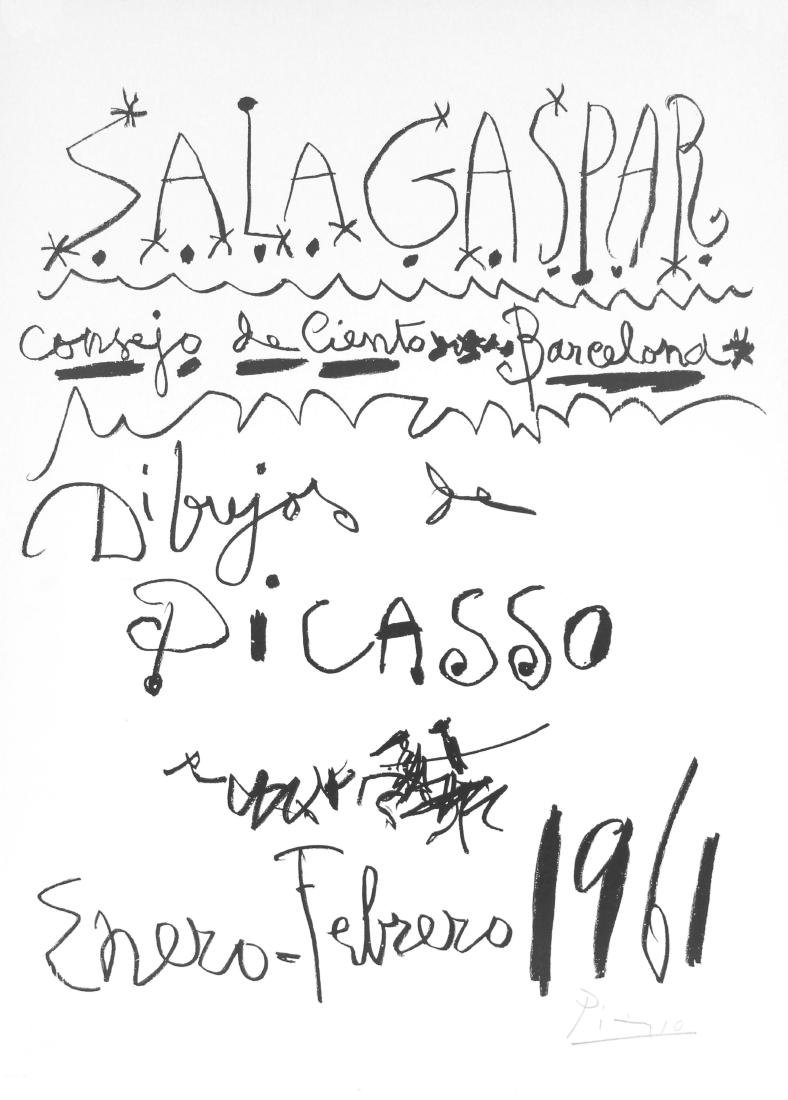 1131: PABLO PICASSO - Dibujos de Picasso - Barcelona