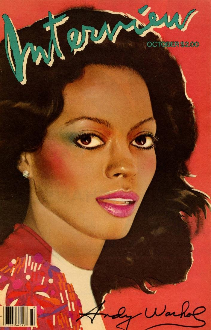 1134: ANDY WARHOL - Diana Ross