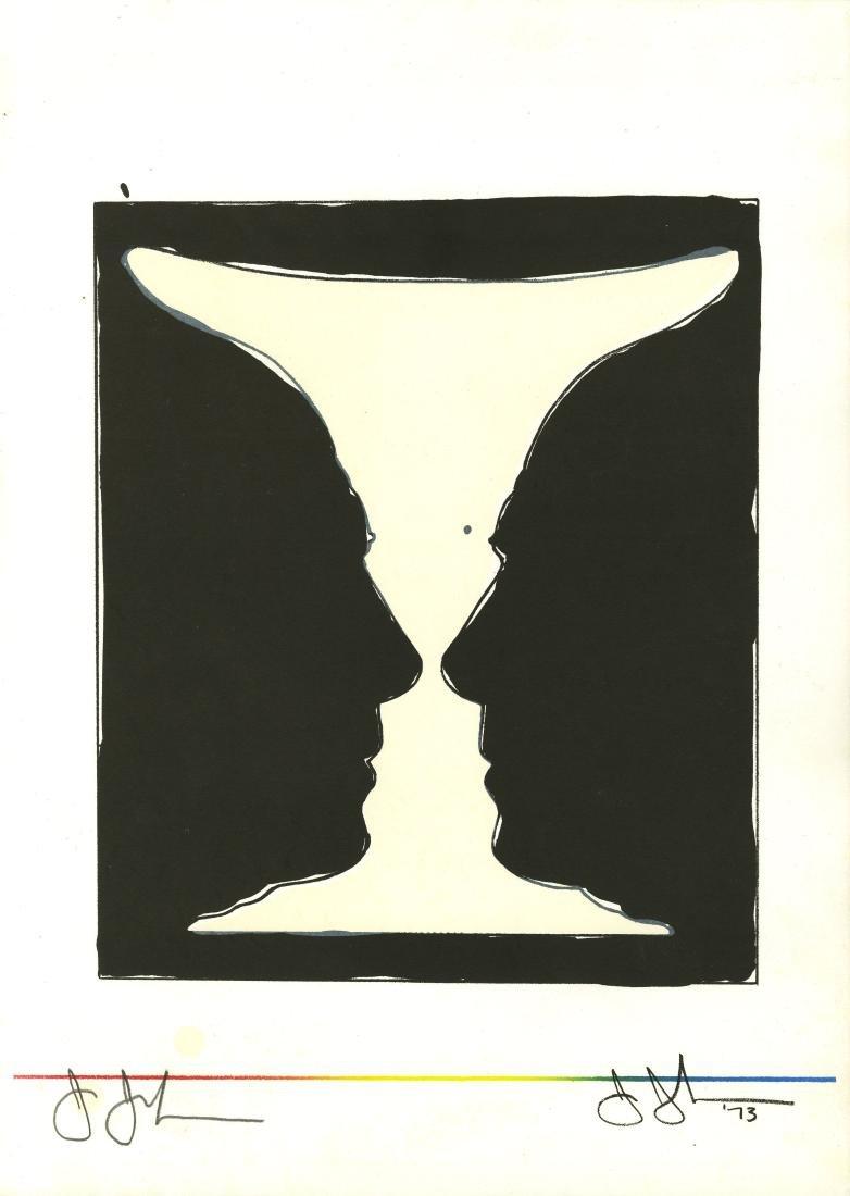 1138: JASPER JOHNS - Cup 2 Picasso