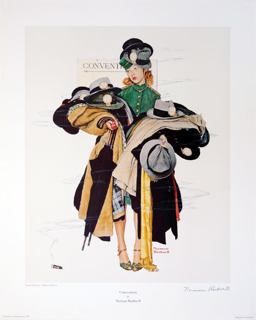 1150: NORMAN ROCKWELL - Convention