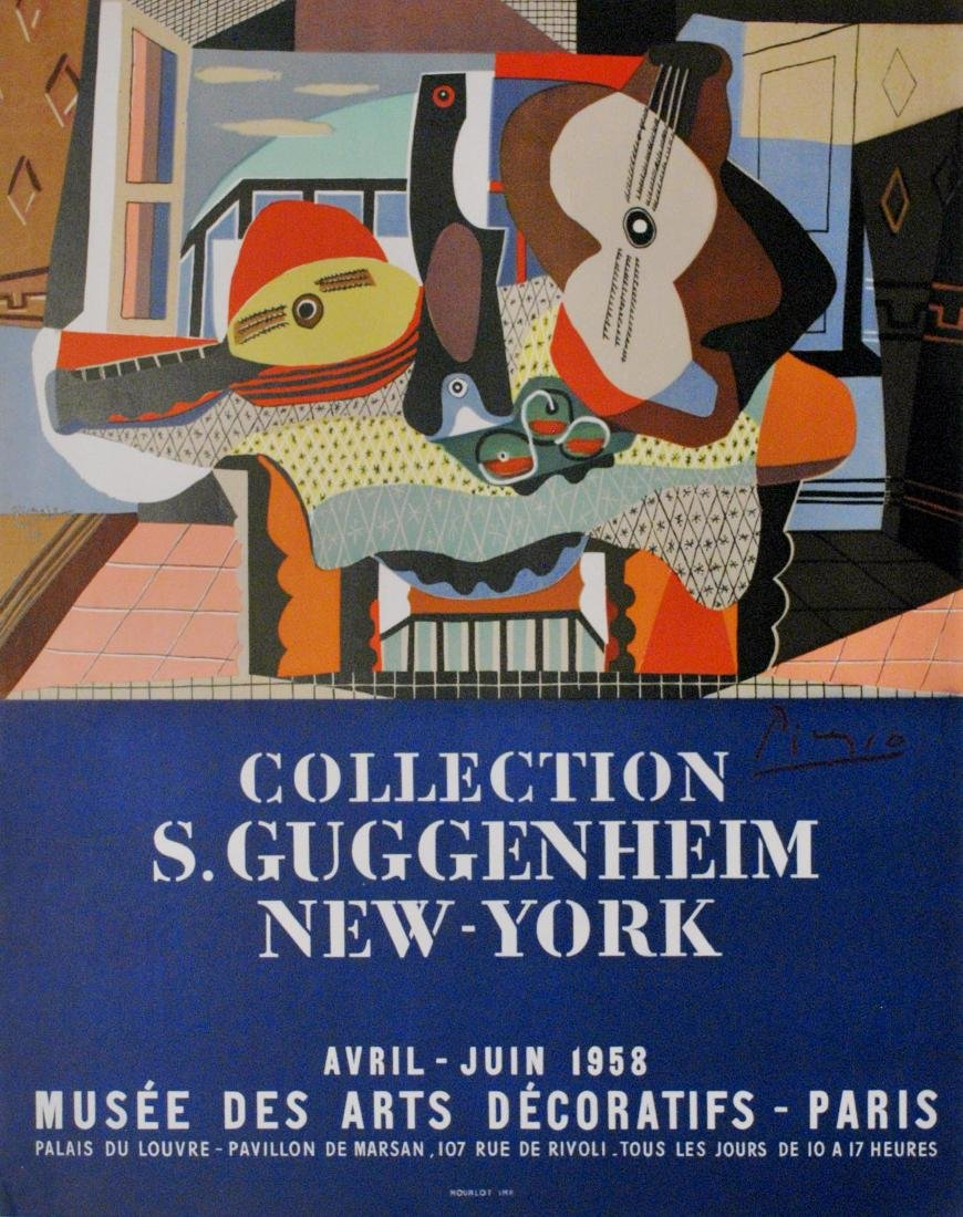1164: PABLO PICASSO - Collection S. Guggenheim New York