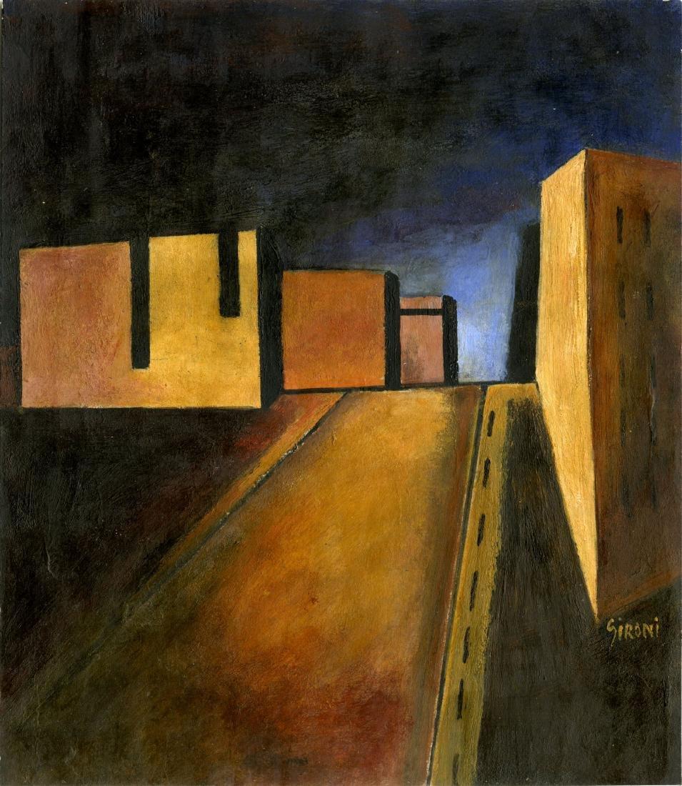 1172: MARIO SIRONI - Casa del Fascio di Bologna