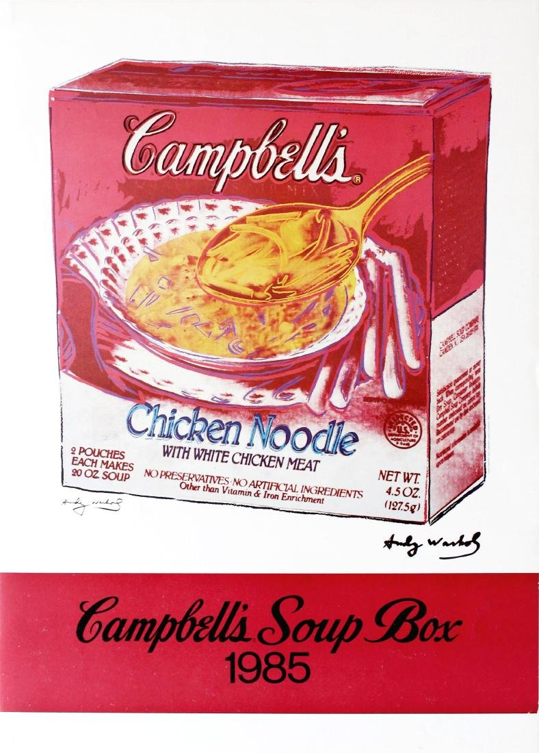 1177: ANDY WARHOL - Campbell's Soup Box