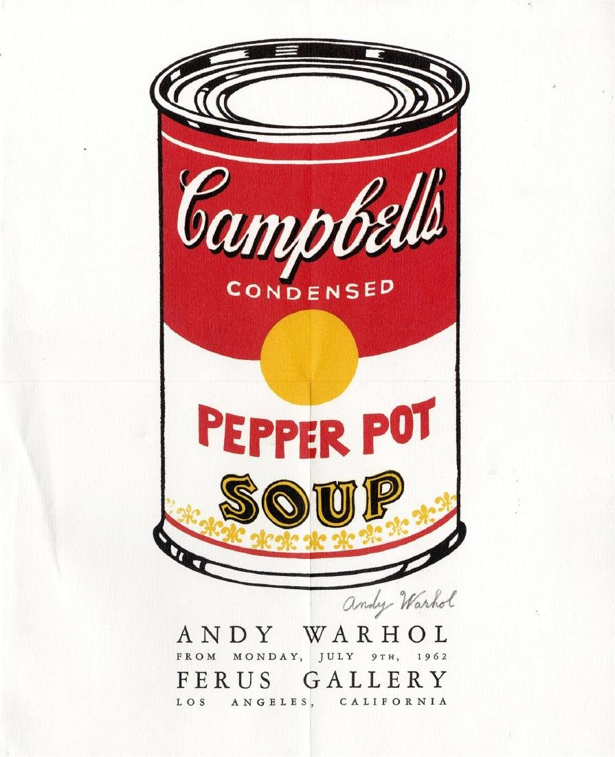 1178: ANDY WARHOL - Campbell's Soup - Pepper Pot