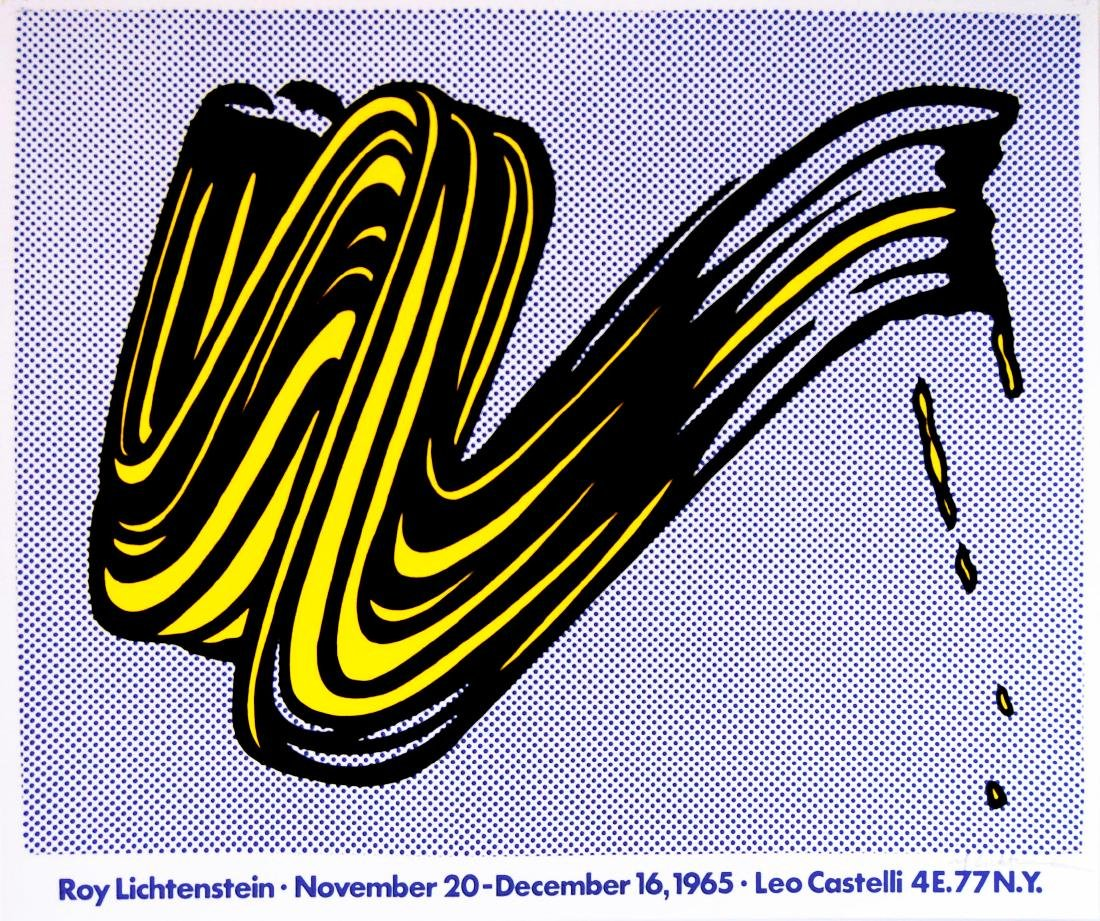 1187: ROY LICHTENSTEIN - Brushstroke