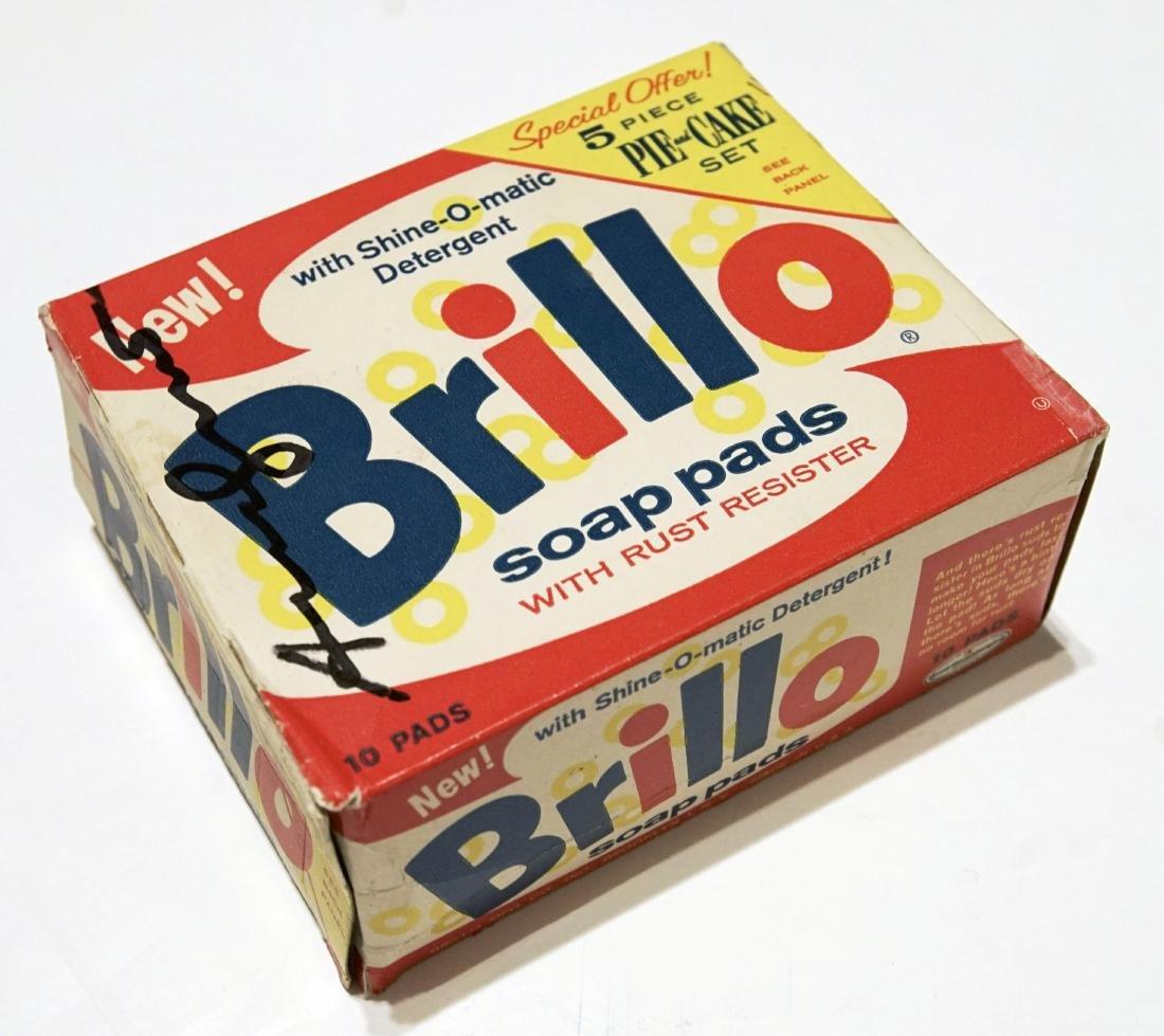 1191: ANDY WARHOL - Brillo Pads Box