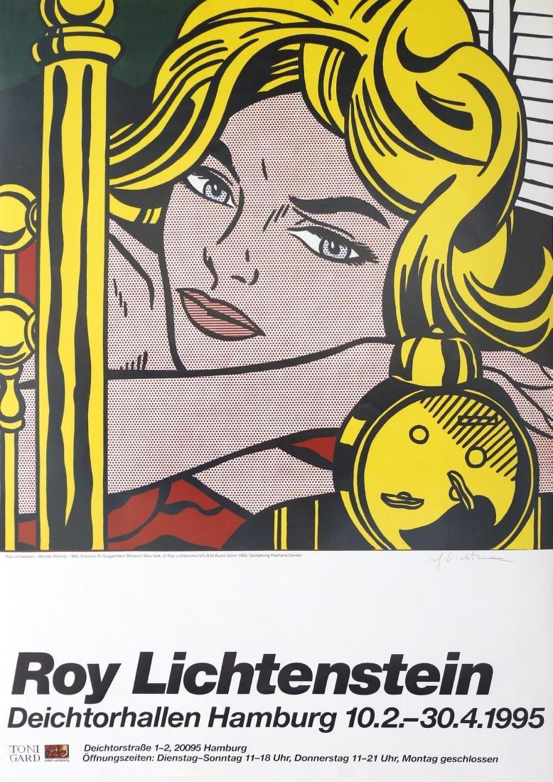 1197: ROY LICHTENSTEIN - Blonde Waiting