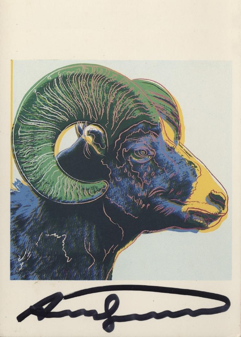 1203: ANDY WARHOL - Bighorn Ram