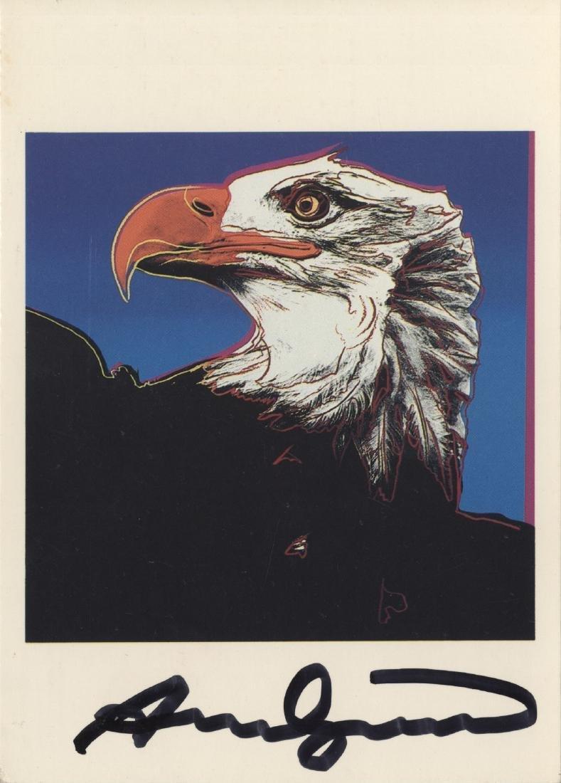 1217: ANDY WARHOL - Bald Eagle