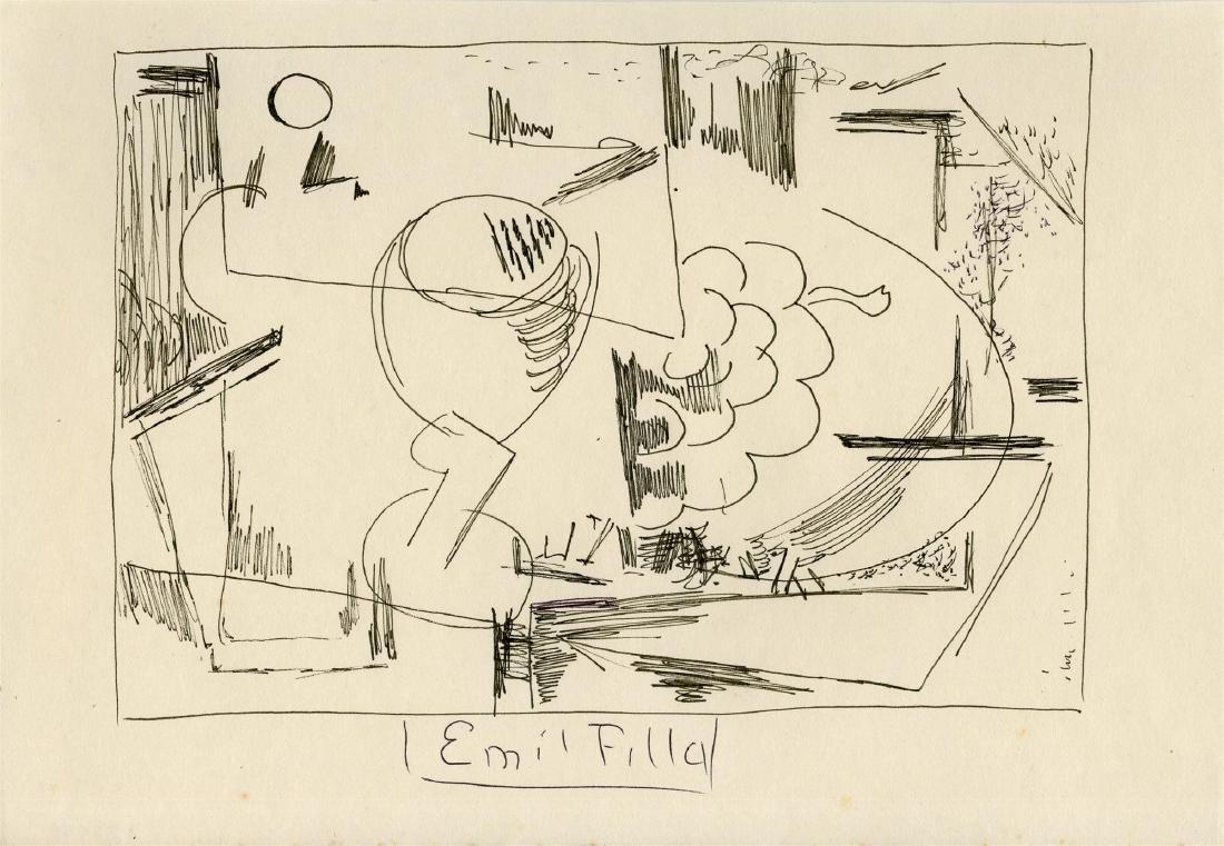 1256: EMIL FILLA - Zatisi abstraktni kompozice