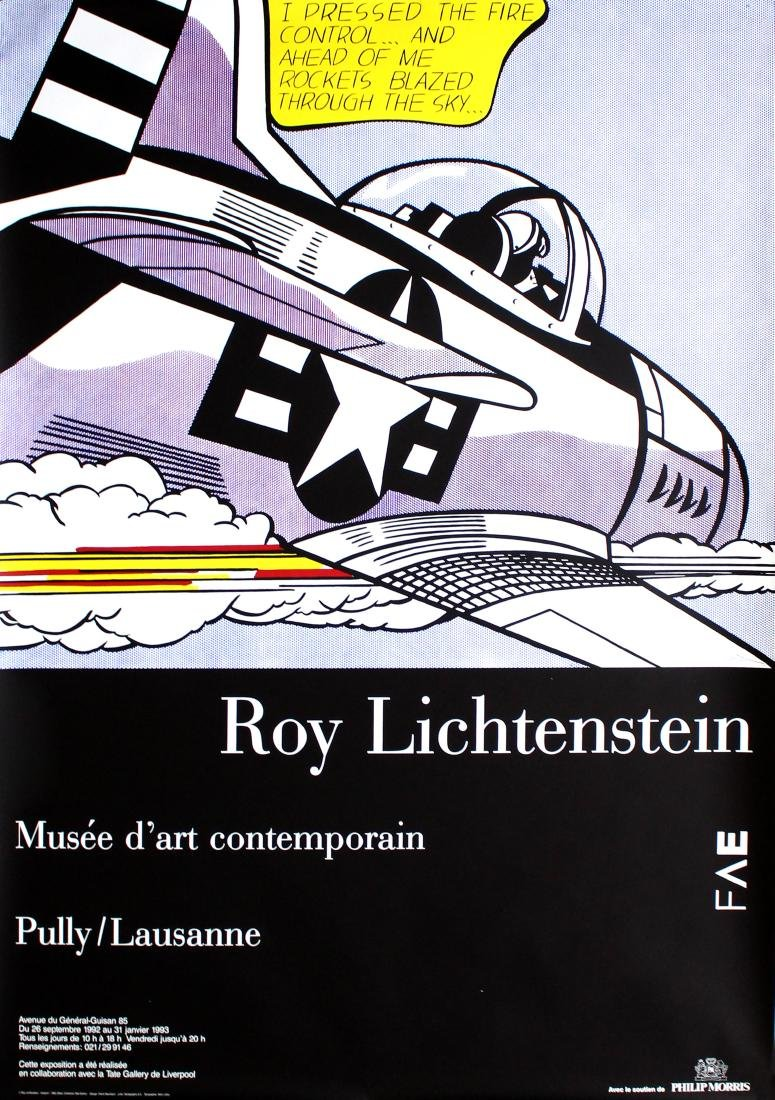 1267: ROY LICHTENSTEIN - Whaam!
