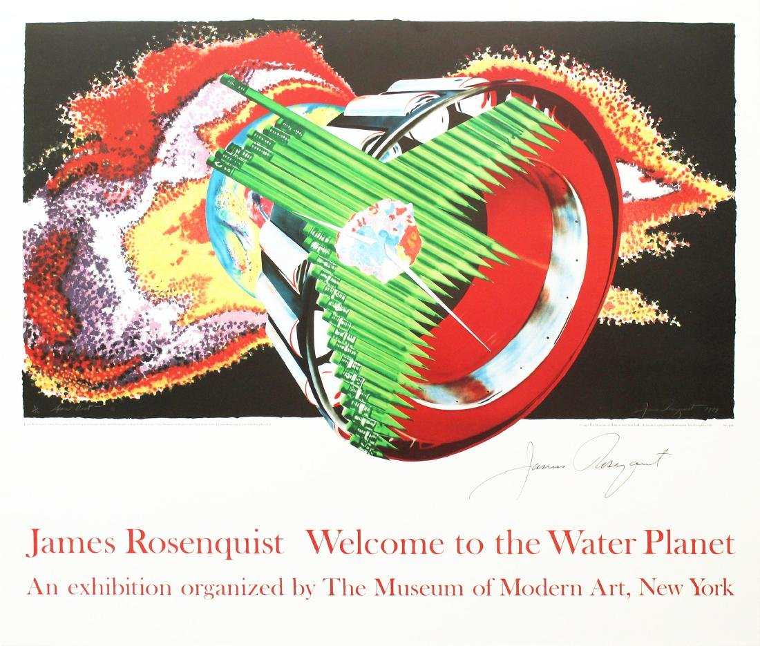 1269: JAMES ROSENQUIST - Weclome to the Water Planet: