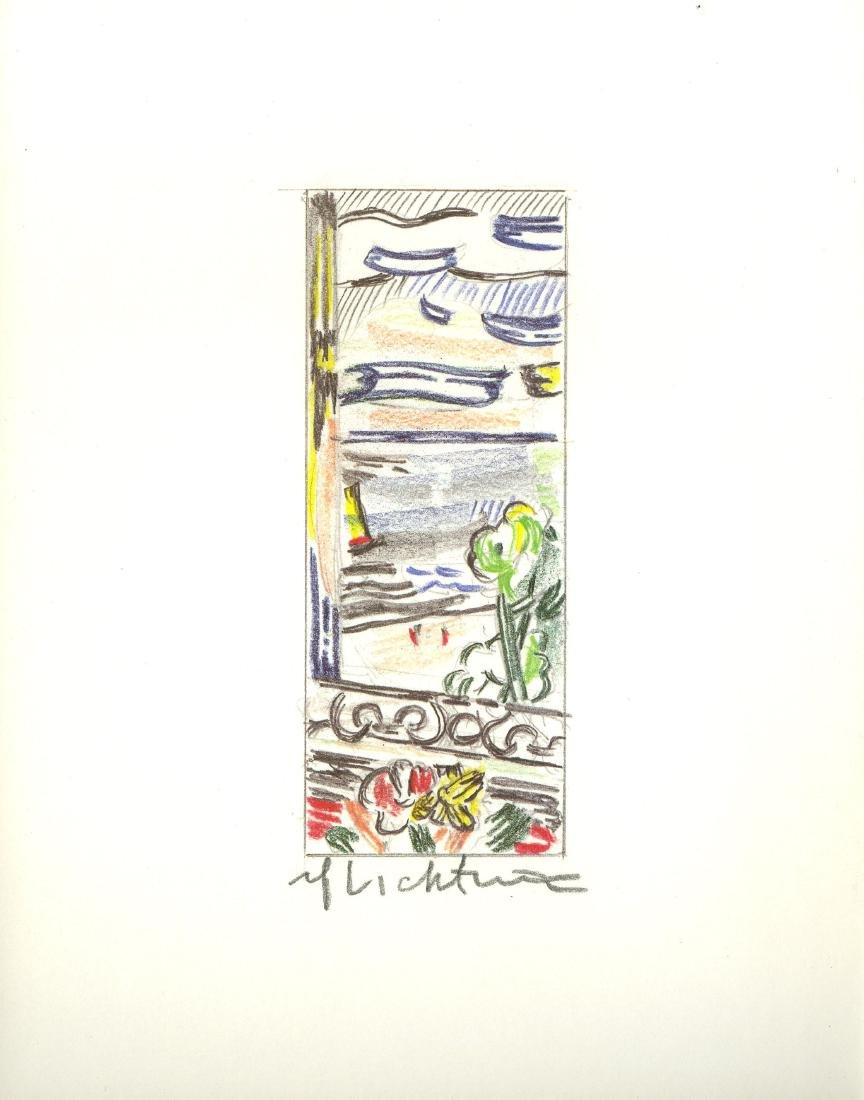 1275: ROY LICHTENSTEIN - View from the Window