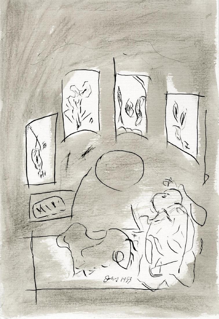 1291: GENE B. DAVIS - Untitled I