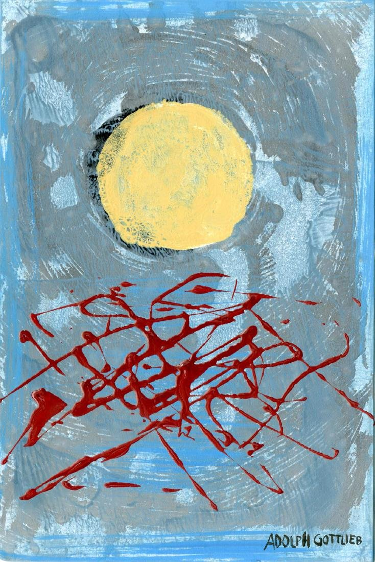 1297: ADOLPH GOTTLIEB [imputee] - Untitled #2