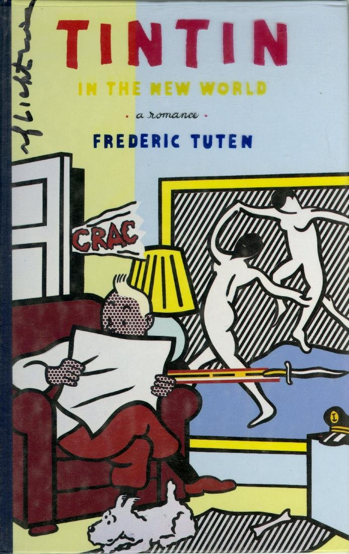 1321: ROY LICHTENSTEIN - Tintin Reading (a)