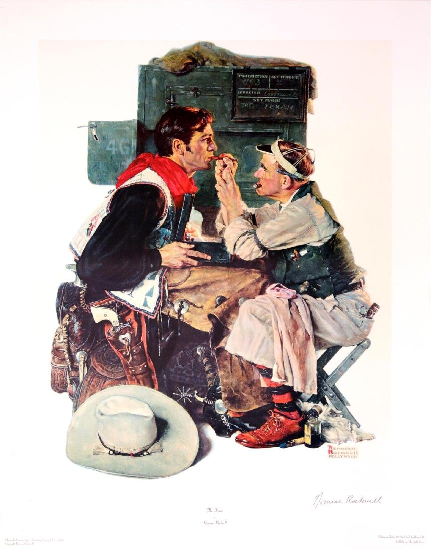 1329: NORMAN ROCKWELL - The Texan