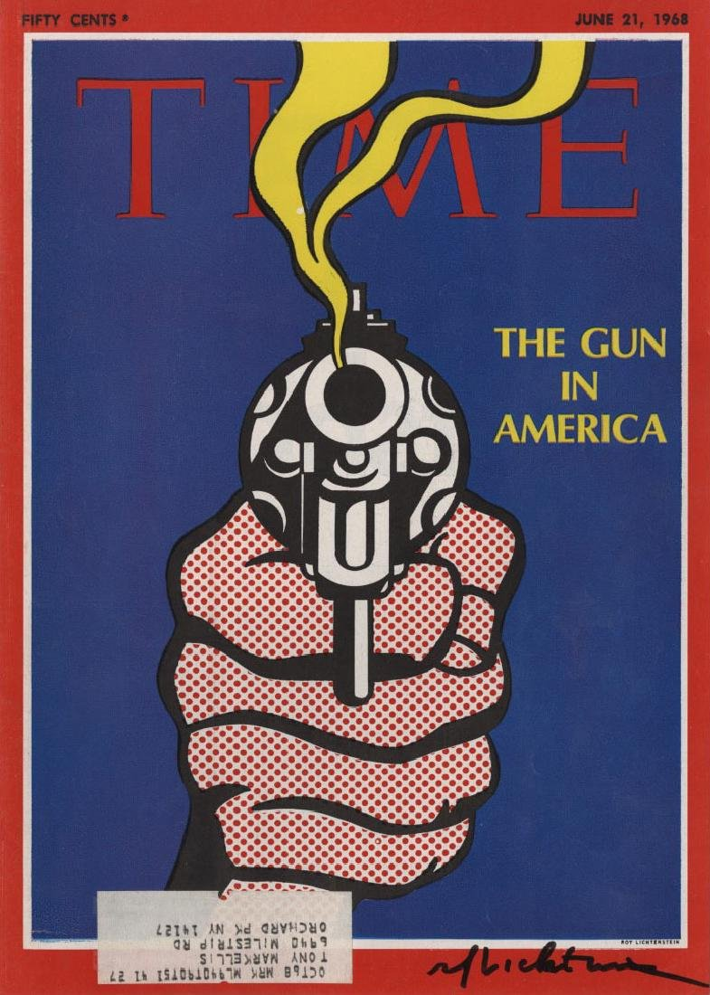 1338: ROY LICHTENSTEIN - The Gun in America