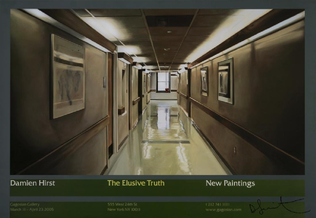 1341: DAMIEN HIRST - The Elusive Truth - Hospital