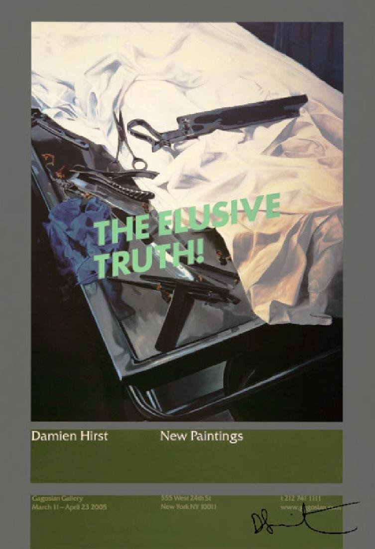 1342: DAMIEN HIRST - The Elusive Truth - Dissection