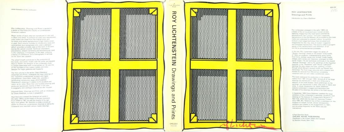 1364: ROY LICHTENSTEIN - Stretcher Frame with Cross