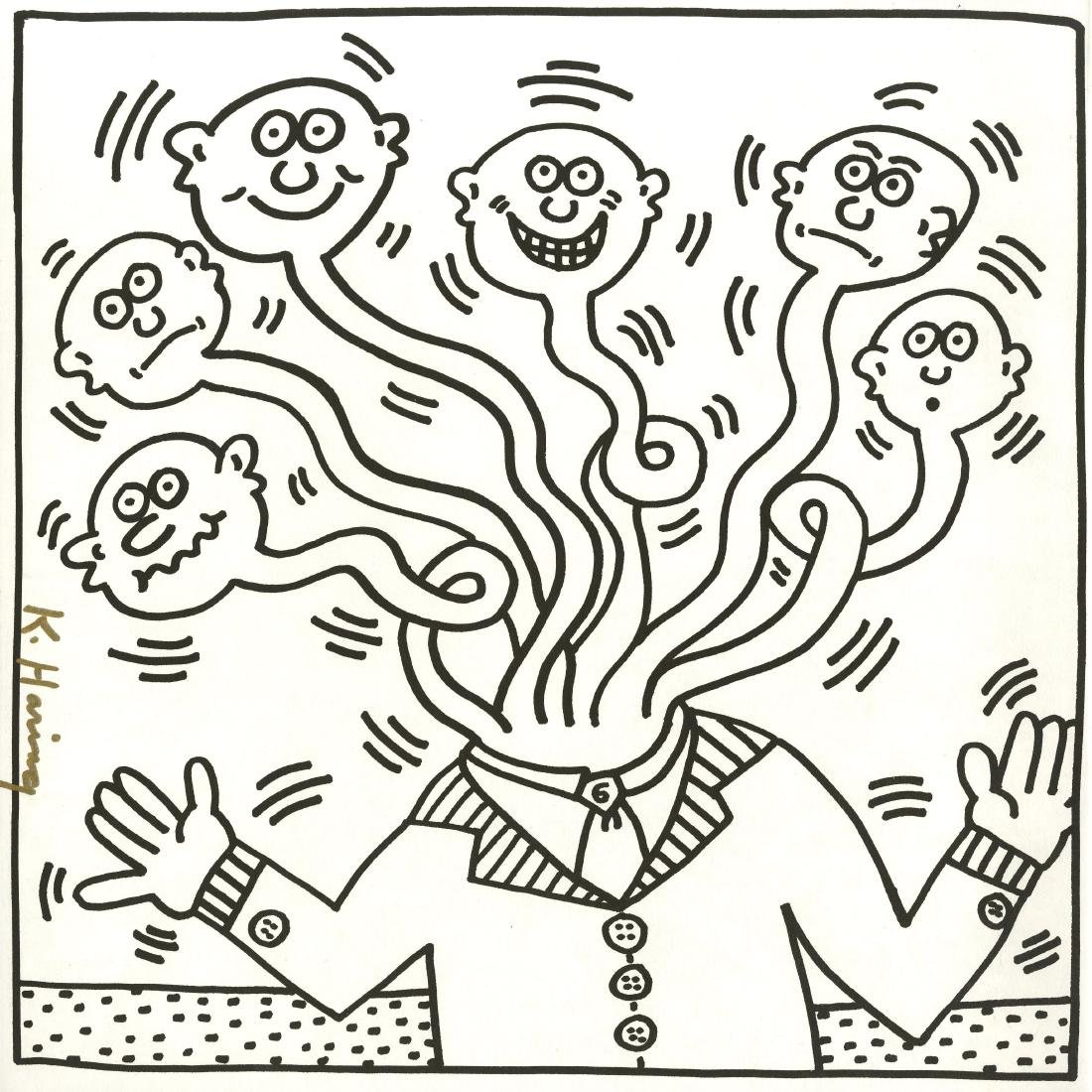 1379: KEITH HARING - Six Necks