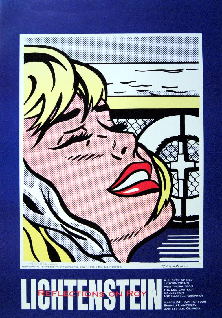 1385: ROY LICHTENSTEIN - Shipboard Girl