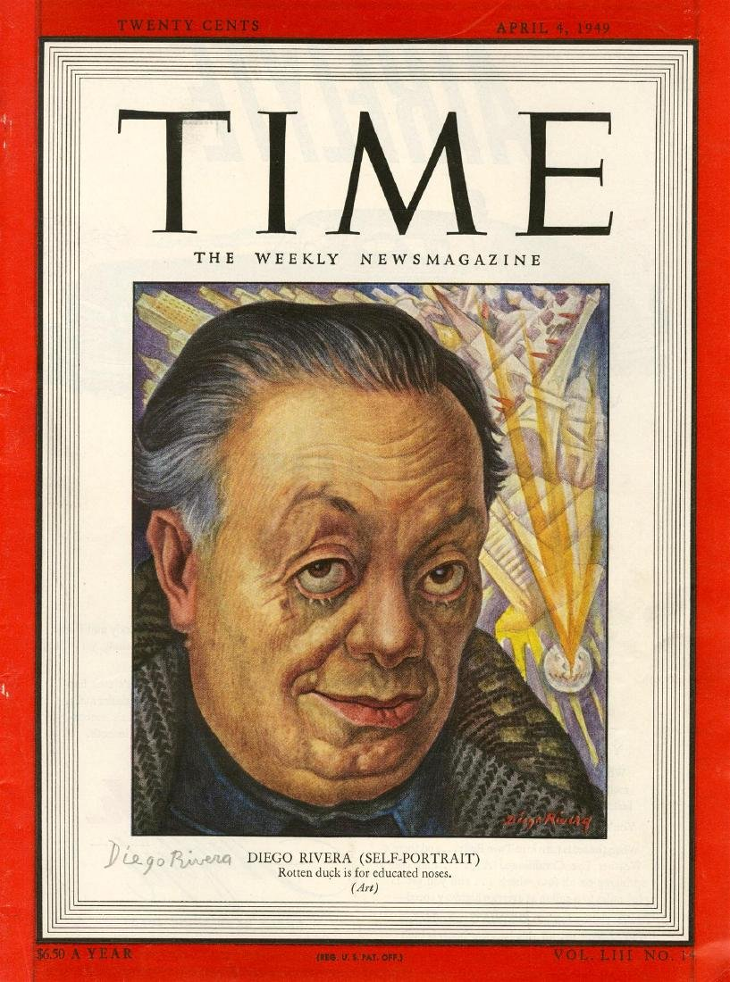 1390: DIEGO RIVERA - Self-Portrait