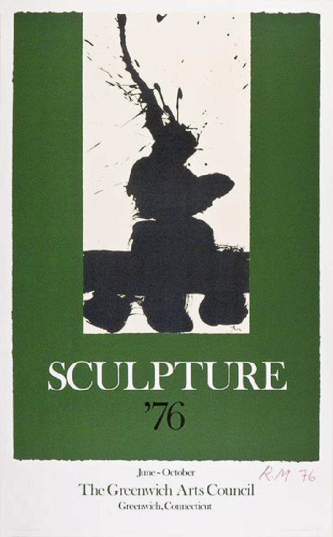 1395: ROBERT MOTHERWELL - Sculpture '76