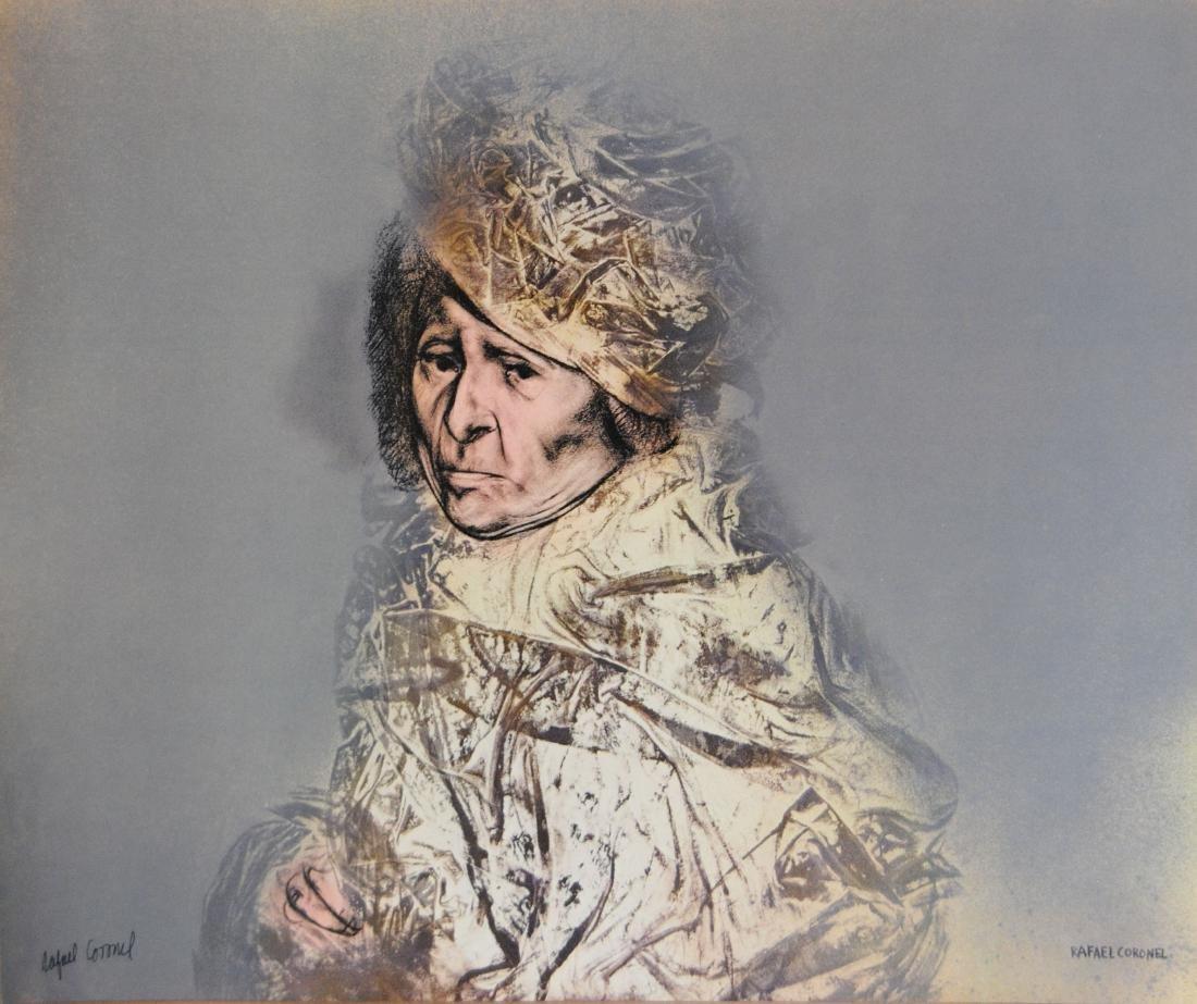 1415: RAFAEL CORONEL - Retrato Funeral
