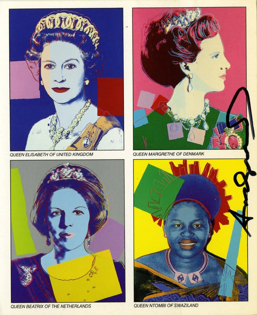 1418: ANDY WARHOL - Reigning Queens