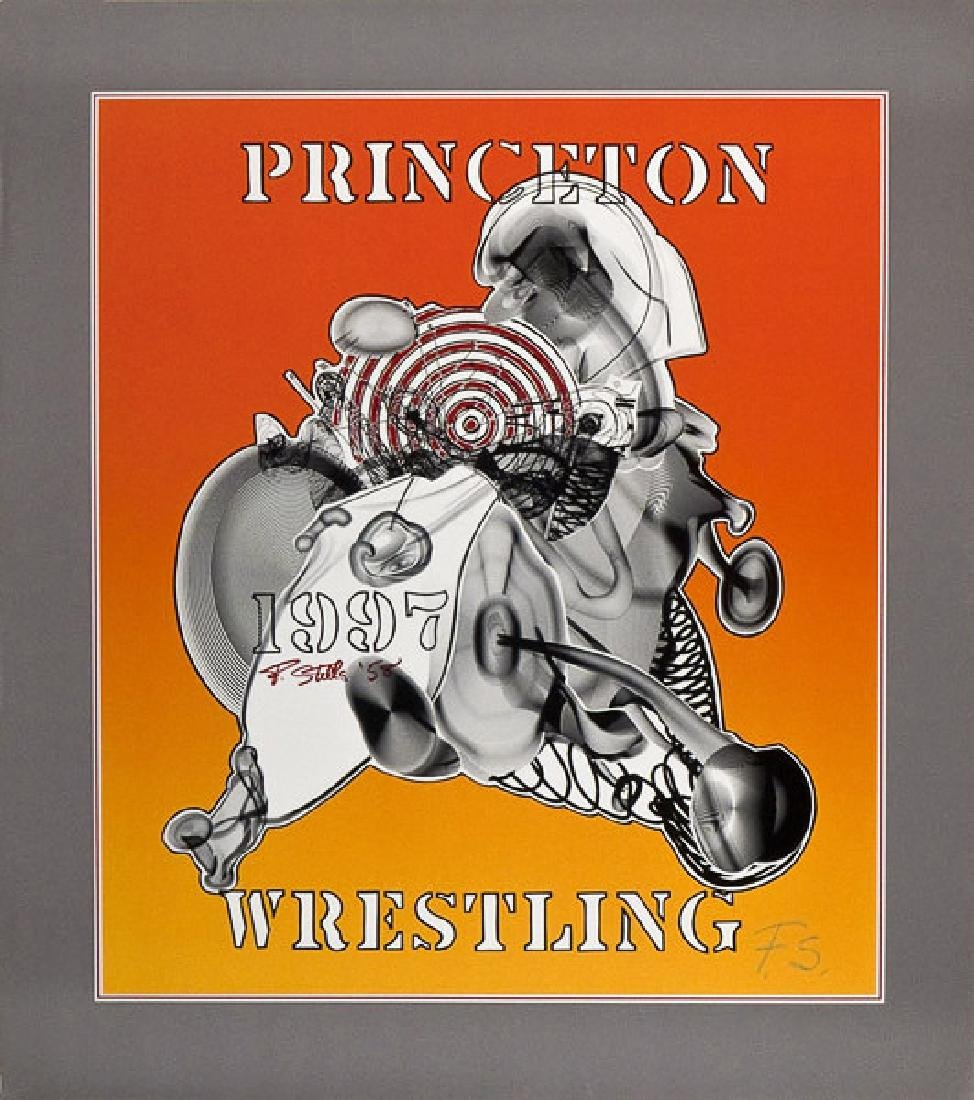 1455: FRANK STELLA - Princeton Wrestling