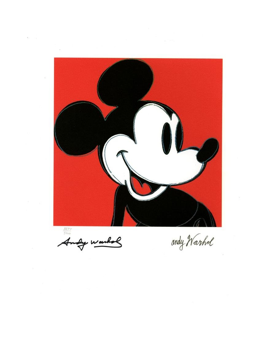 1552: ANDY WARHOL [d'apres] - Mickey Mouse