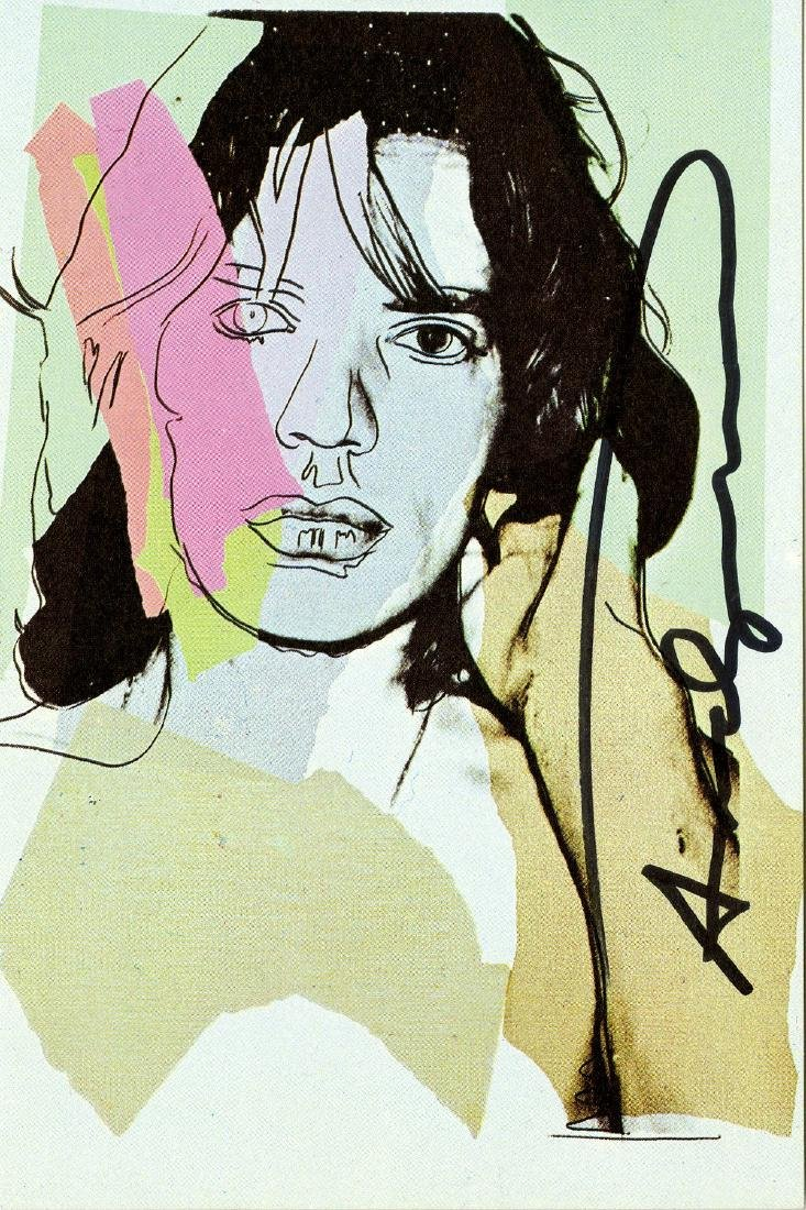 1559: ANDY WARHOL - Mick Jagger #05 [first edition]