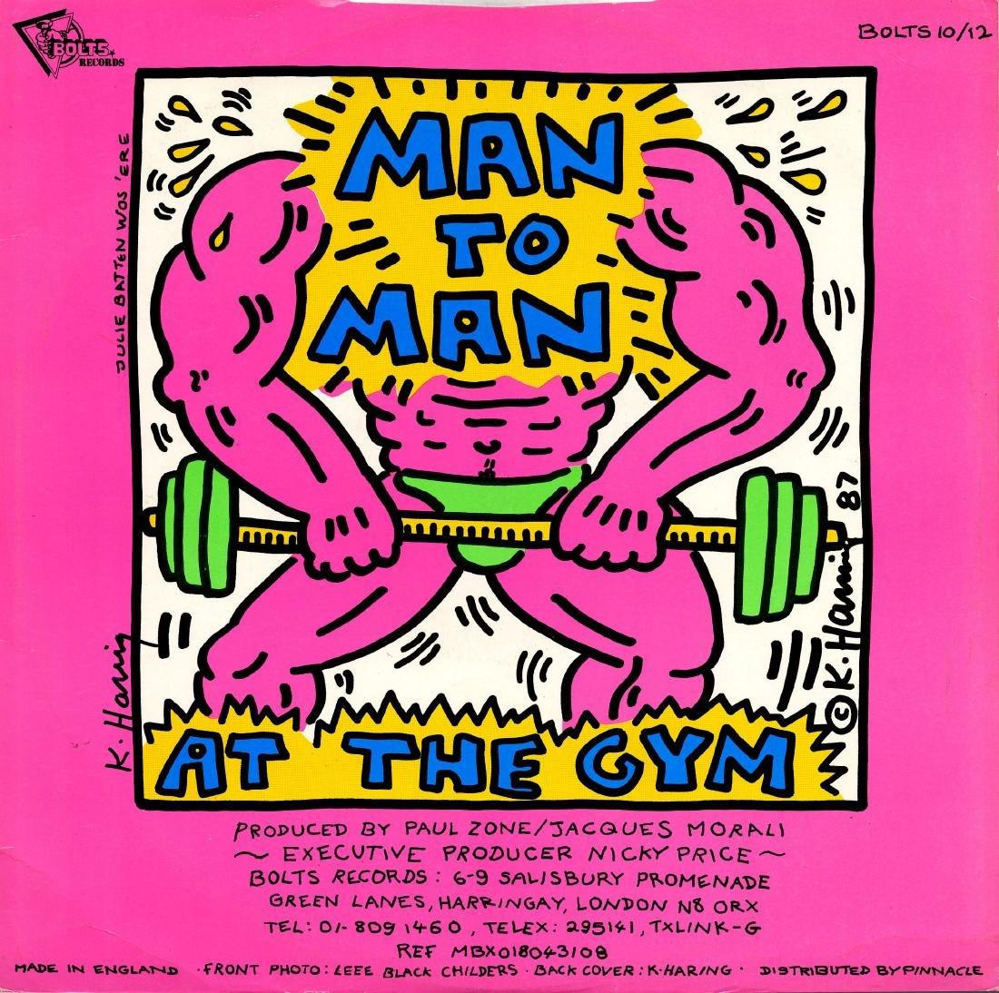 1603: KEITH HARING - Man to Man: At the Gym