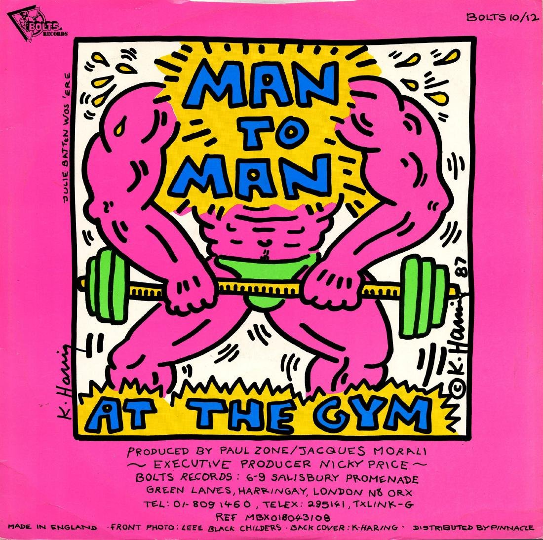 1603: KEITH HARING - Man to Man: At the Gym