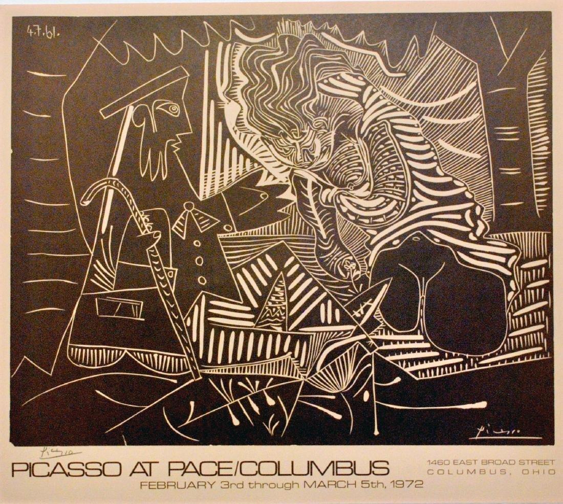 1626: PABLO PICASSO - Le Dejeuner sur l'Herbe