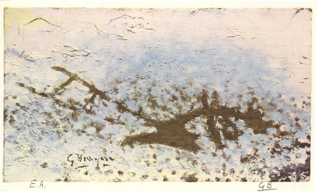 1641: GEORGES BRAQUE - La charrue