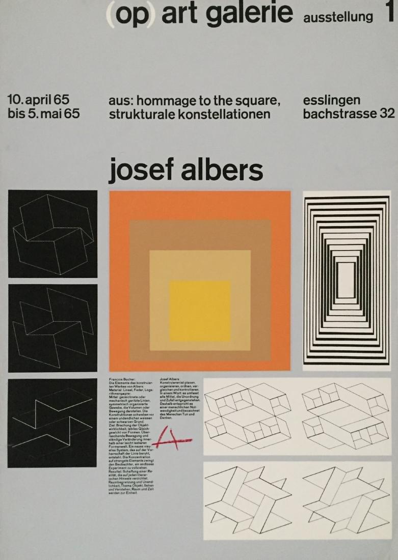 1655: JOSEF ALBERS - Josef Albers: Homage to the