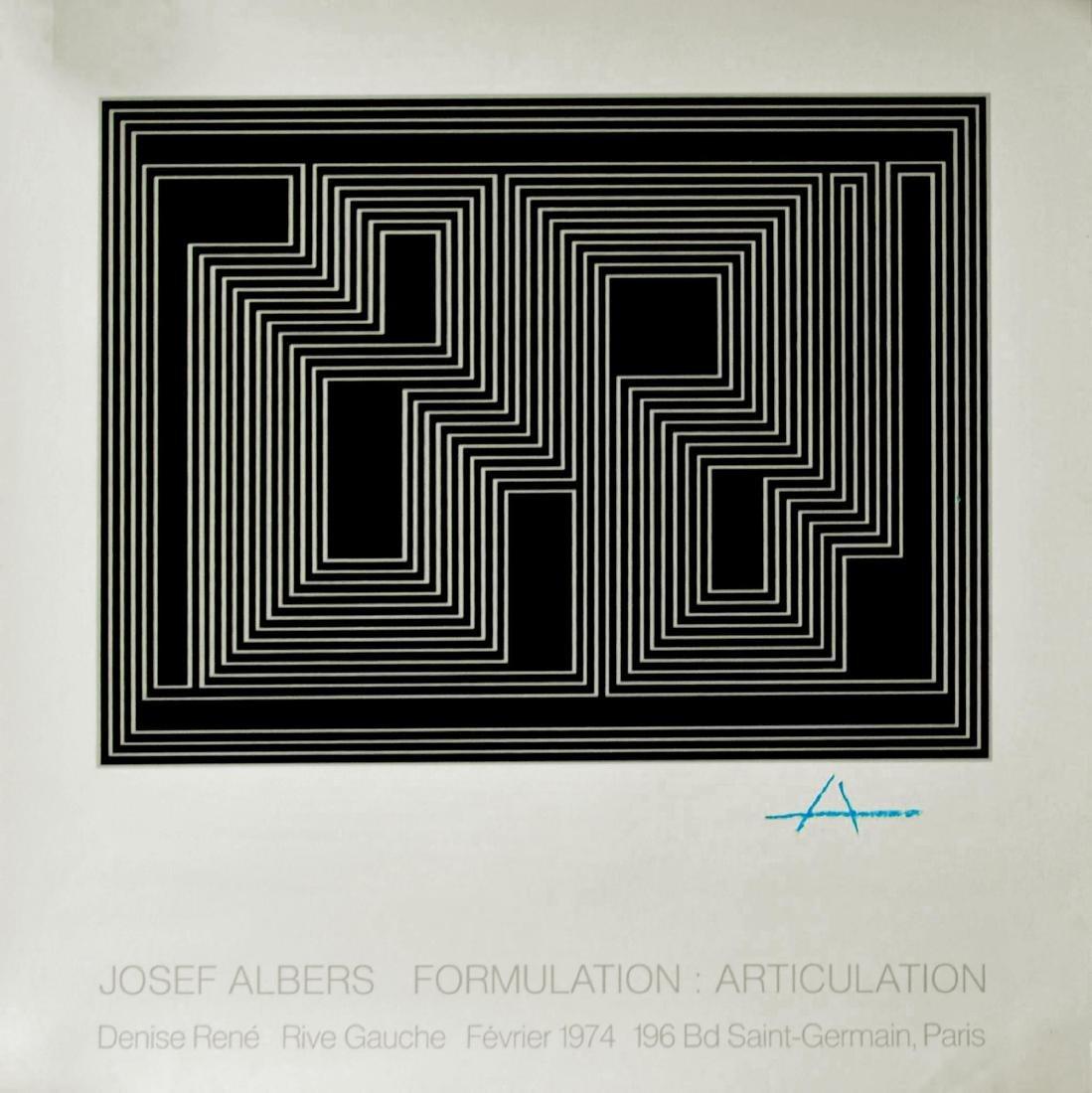 1656: JOSEF ALBERS - Josef Albers: Formulation -