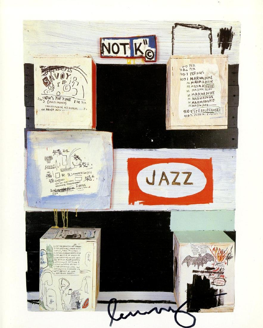 1660: JEAN-MICHEL BASQUIAT - Jazz