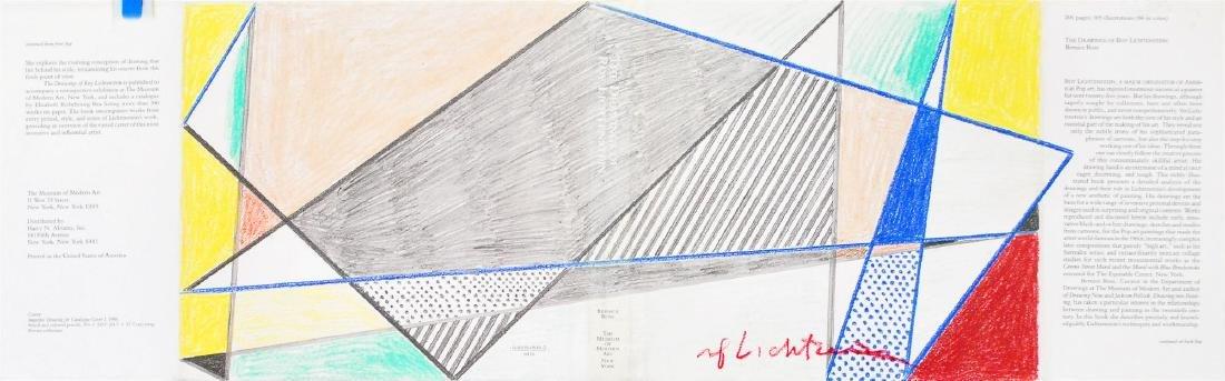 1682: ROY LICHTENSTEIN - Imperfect Drawing for