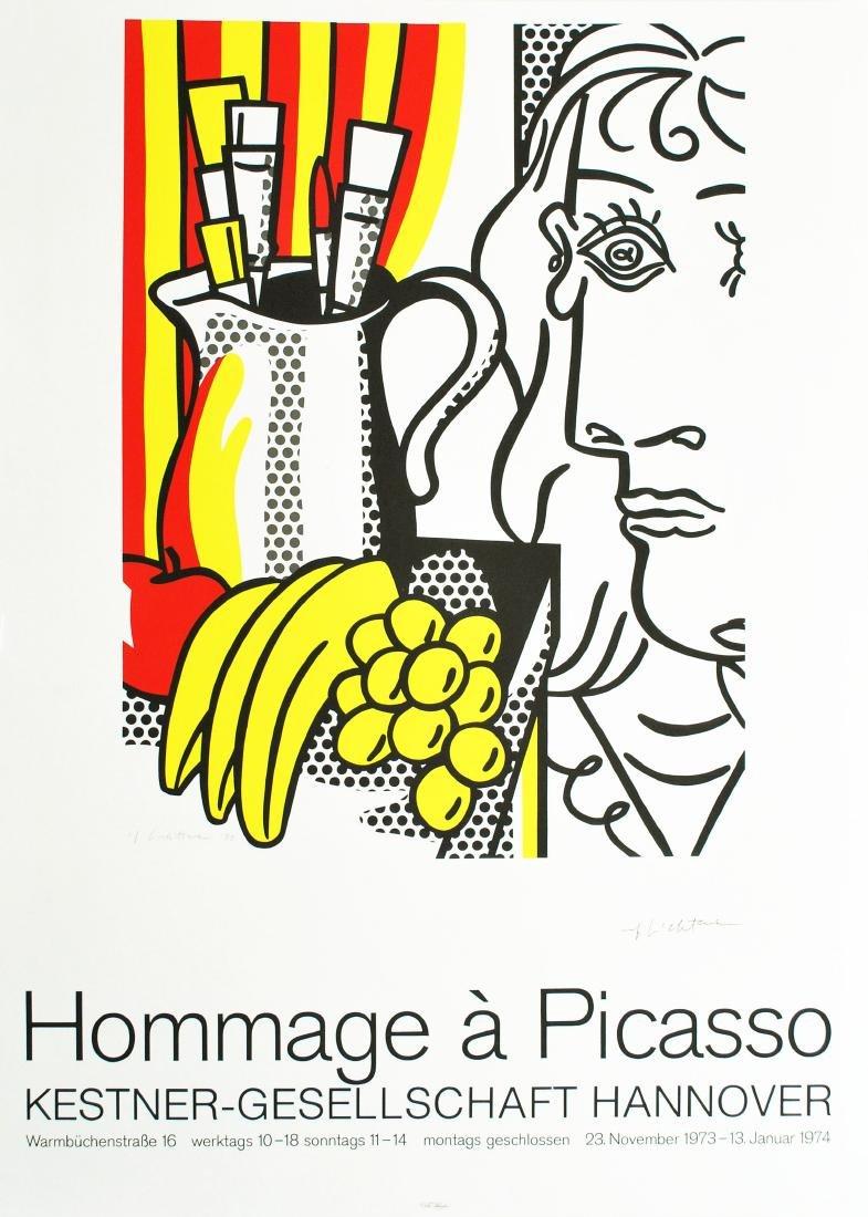 1692: ROY LICHTENSTEIN [d'apres] - Hommage a Picasso