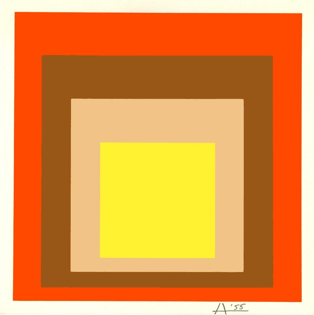1695: JOSEF ALBERS - Homage to the Square: Yes Sir